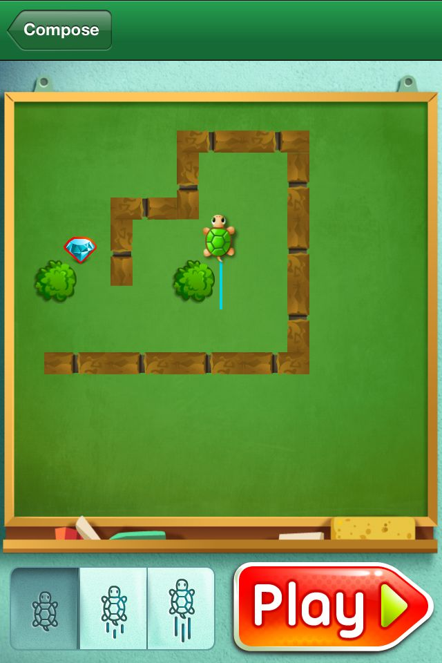 Move the Turtle. Programming for kids - Educational App